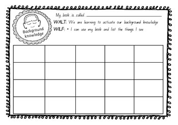 FREEBIE Comprehension and Guided Reading Printable Activities