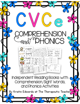 Comprehension and Phonics CVCe- Book Edition