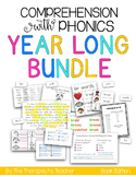 Comprehension with Phonics YEAR LONG BUNDLE (BOOK EDITION)