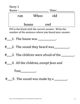 Text Evidence -- Comprehension