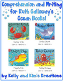 Comprehension and Writing for Ruth Galloway's Ocean Books!