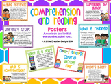 Comprehension and reading poster and connection stem pack