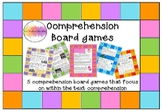 Comprehension board games