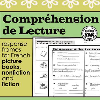 Compréhension de Lecture: Reading Response