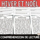 Compréhension de lecture - Thèmes: HIVER ET NOËL - 5 texte