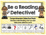 Comprehension Strategies: Detectives cracking the comprehe
