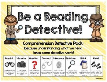 Comprehension Strategies: Detectives cracking the comprehe