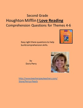 Comprehension for I Love Reading Themes four through six