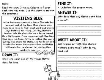 Comprehension for Little Learners May