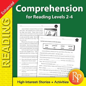Comprehension for Reading Levels 2-4 - Enhanced