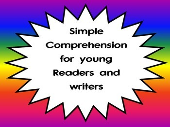 Comprehension for early readers and writers