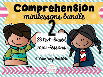 Comprehension minilesson bundle #2