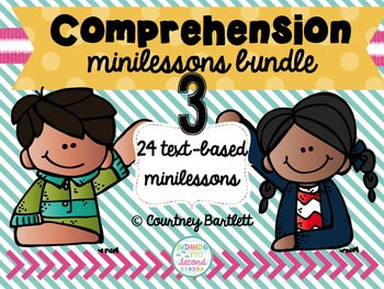 Comprehension minilesson bundle #3