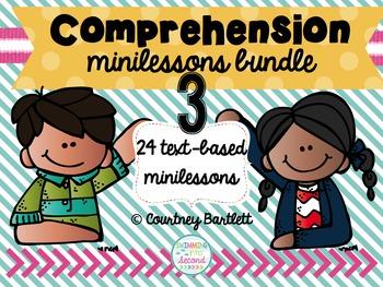 Comprehension minilesson bundle #3