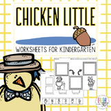 Chicken Little: Worksheets and Activities for Little Learners!