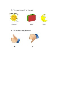 Comprehension questions for Eggs