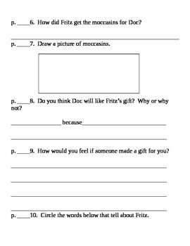 Comprehension questions for Superkids Reading program