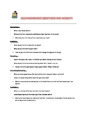 Comprehension questions for parents to use at home