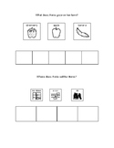 Comprehension questions with visuals for Apple Farmer Annie - grid