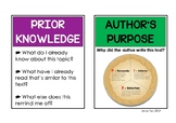 Comprehension Strategies Cards