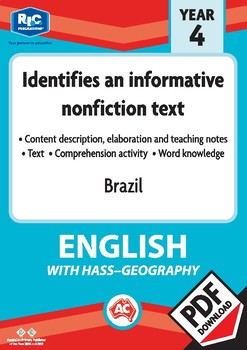 Comprehension text – Brazil – Year 4