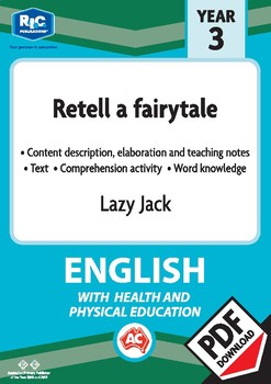 Comprehension text – Lazy Jack – Year 3