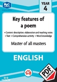Comprehension text – Master of all masters – Year 4