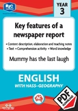 Comprehension text – Mummy has the last laugh – Year 3
