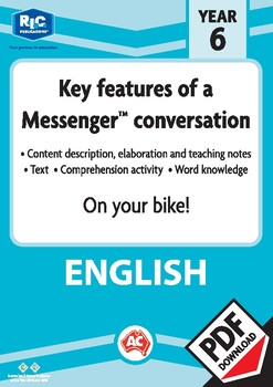 Comprehension text – On your bike! – Year 6