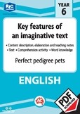 Comprehension text – Perfect pedigree pets – Year 6