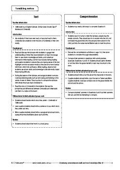 Comprehension text – Tattercoats – Year 2