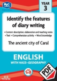 Comprehension text – The ancient city of Caral – Year 3