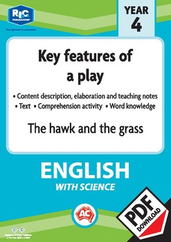 Comprehension text – The hawk and the grass - Year 4