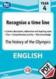 Comprehension text – The history of the Olympics – Year 4