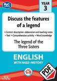 Comprehension text – The legend of the three sisters – Year 3