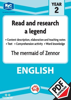 Comprehension text – The mermaid of Zennor – Year 2