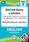 Comprehension text – Wally Woodlouse's adventure – Year 2