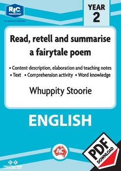 Comprehension text – Whuppity Stoorie – Year 2
