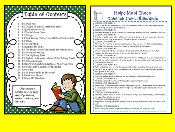 BUNDLE! Reading Comprehension for the Year! 60 Response Sheets-Leveled  3.0-4.9