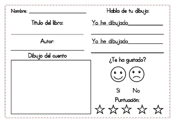 Comprehension worksheets in ENGLISH and SPANISH