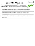 Comprehension/Vocabulary for Houghton Mifflin Journeys Dea