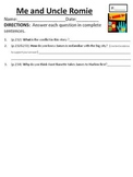 Comprehension/Vocabulary for Houghton Mifflin Journeys Me