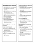 Comprehensions Questions for Parents