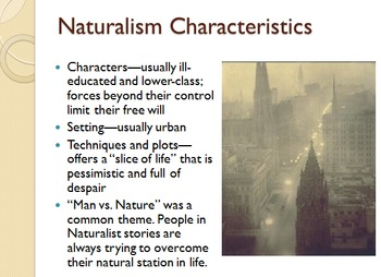 Comprehensive American Literary Periods PowerPoint