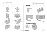 Comprehensive Area and Perimeter Test