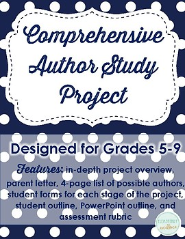 Comprehensive Author Study Project