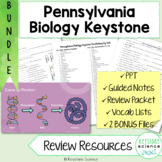 Comprehensive Biology Keystone Review BUNDLE PowerPoints, Guided Notes, Packet