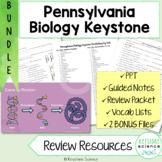 Comprehensive Biology Keystone Review BUNDLE PowerPoints,