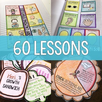 Year Long Classroom Guidance Lesson School Counseling Curriculum