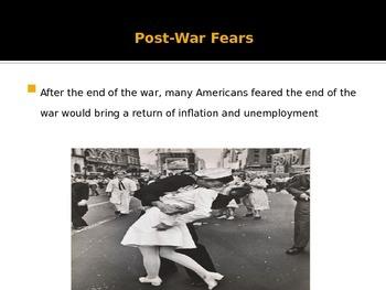 Comprehensive Cold War Era PowerPoint Lecture Presentation